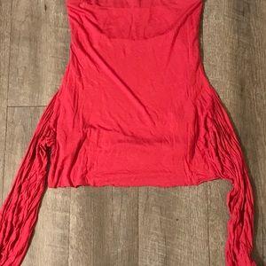 Anthropologie Velvet brand skirt